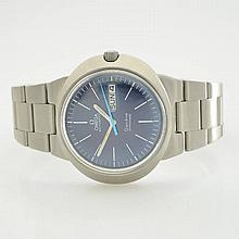 OMEGA Dynamic gent's wristwatch in stainless steel