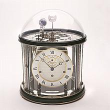 FRANZ HERMLE & SON astronomical table clock Tellurium