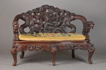 Chair, colonial furniture, around 1900,