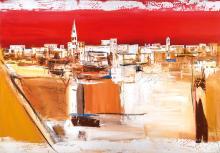 Unknown contemporary artist, oil / canvas