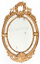 A FRENCH CARVED GILT WOOD MIRROR  Circa 1900 63 x 39-1/