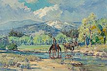 MARJORIE JANE REED (American, 1915-1996) Valley River C