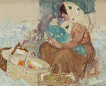 LEON GASPARD (Russian/American, 1882-1964) Russian Woma