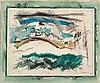 JOHN MARIN (American, 1870-1953) Lighthouse, Stonington, John Marin, $50,000