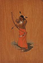 OSCAR EDWARD BERNINGHAUS (American, 1874-1952) Indian B
