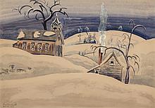 CHARLES EPHRAIM BURCHFIELD (American, 1893-1967) Countr