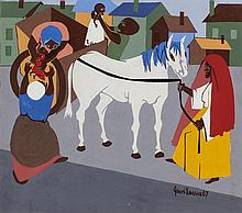 JACOB LAWRENCE (American, 1917-2000) Another Journey En