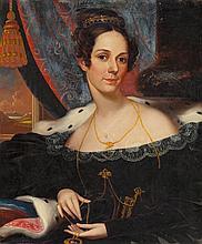 ROBERT STREET (American, 1796-1865) Portrait of a Woman