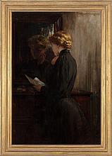 JAMES CARROLL BECKWITH (American, 1852-1917) Grandmothe