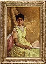 WARREN B. DAVIS (American, 1865-1928) Mrs. Emma Fenton