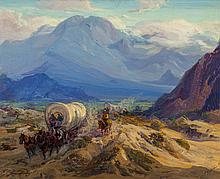 FRED GRAYSON SAYRE (American, 1879-1939) Rugged Trails