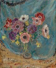 FREDERICK CARL FRIESEKE (American, 1874-1939) Floral St