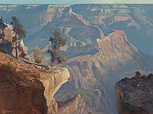 RALPH LOVE (American, 1907-1992) Canyon Morning from Ya