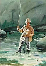 GERARD CURTIS DELANO (American, 1890-1972) The Trout Po