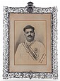 SIGNED AND INSCRIBED PHOTOGRAPH OF A MAHARAJA SAYAJIRAO