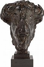 FLOYD T. DEWITT (American, b. 1934) Mask of the Minotau