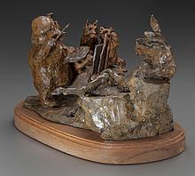 JOFFA KERR (American , b. 1935) Wild About Art, 1997 Br
