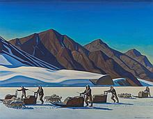 ROCKWELL KENT (American, 1882-1971) Polar Expedition, 1