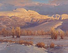 JIM WILCOX (American, b. 1941) Sleeping Indian's Winter