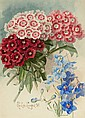 PAUL DE LONGPRE (American, 1855-1911) Spring Bouquet, 1
