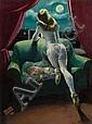 LUCIAN BERNHARD (American, 1883-1972) Moonstruck,, Lucian Bernhard, Click for value