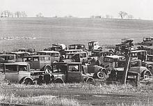 WALKER EVANS (American, 1903-1975) Joe's Auto Graveyard