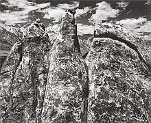 ANSEL ADAMS (American, 1902-1984) Pinnacles, Alabama Hi