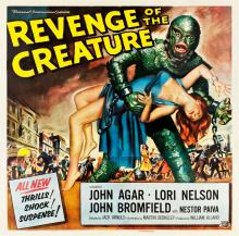 Revenge of the Creature (Universal International, 1955)
