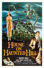 House on Haunted Hill (Allied Artists, 1959). One Sheet