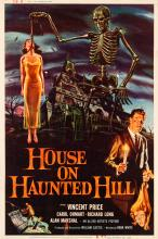 House on Haunted Hill (Allied Artists, 1959). Poster (4