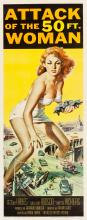 Attack of the 50 Foot Woman (Allied Artists, 1958). Ins