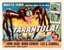Tarantula (Universal International, 1955). Half Sheet (