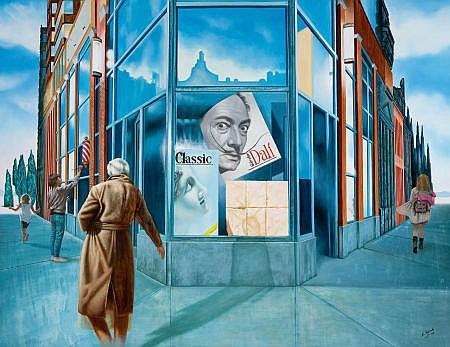 ENRIQUE TOLEDO (Cuban, b. 1966) Homage to Dalí (Untitle