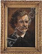 Mark Twain: Period Painting Attributed to James Carroll