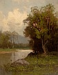CHARLES HENRY EATON (American, 1850-1901) River's Edge