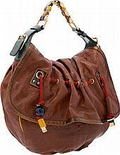 Louis Vuitton Brown Monogram Empreinte Leather Kalahari