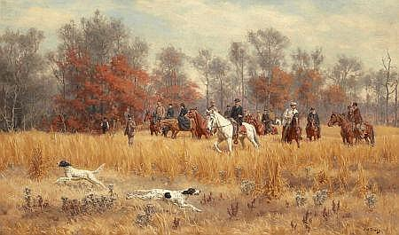 JOHN MARTIN TRACY (American, 1844-1893) Field