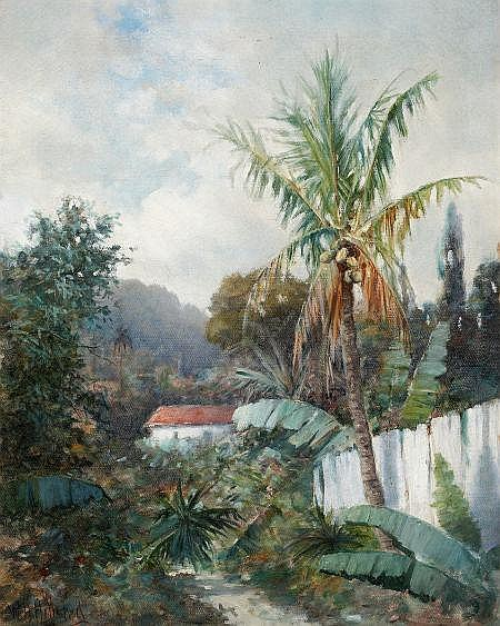 WILLIAM H. HILLARD (American, 1836-1905) Tropical