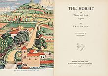 J. R. R. Tolkien. The Hobbit or There and Back Again. B