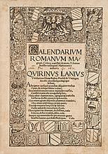 Johannes Stoeffler. Calendarium Romanum Magnum, Caesare
