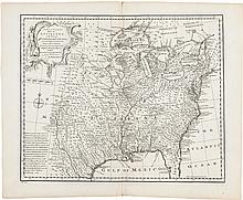 [Map of North America]. Eman. Bowen. A New & Accurate M