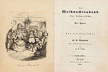 [John Leech, Illustrator]. [Charles] Boz (Dickens). Der