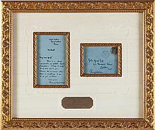 Aubrey Beardsley. Autograph Letter Signed with Original