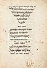 Stephanus Niger [Stefano Negri] and Flavius Philostratu
