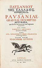 Pausanius. [Greek Title:] Pausaniae Graeciae Descriptio