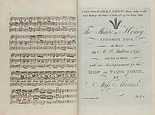 Bound album of engraved musical scores, comprising: