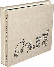 Pablo Picasso. Picasso Linoleum Cuts. Bacchanals, Women