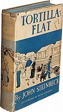 John Steinbeck. Tortilla Flat. New York: Covici Friede,