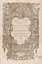 [Sigismund Gelenius, editor]. Philo Judeaus. Opera Exeg