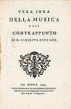 Giuseppe Pintado. Vera idea della musica e del contrapp